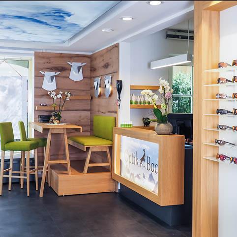 neue Geschäftsräume von Optik Bock im fast gleichen Blickwinkel